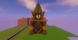 Elven Clock Tower Minecraft Map & Project