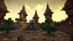 Medieval Wooden Spawn / Hub Minecraft Map & Project