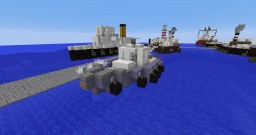 Modern tugboat Minecraft Map & Project