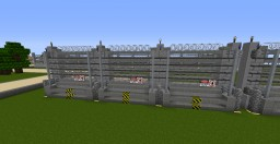 Jurassic Adventure High Carnivore Security Fences Minecraft Project