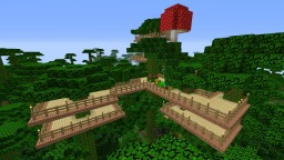 My Tree Fort Home Minecraft Map & Project