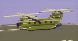 Chinook Helicopter Minecraft Map & Project