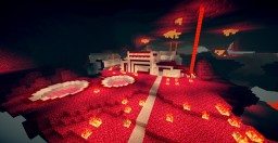 Nether Redstone House Minecraft Map & Project
