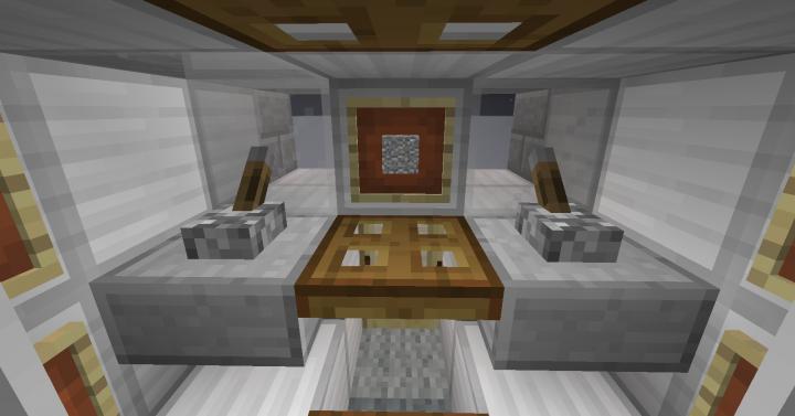 Interior facing forward