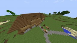 Big Wooden house Minecraft Project