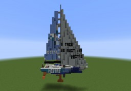 Team Vestas Wind Volvo 65 Minecraft Map & Project