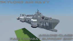 Ariadne Class Fast Combat Support Ship Minecraft Map & Project