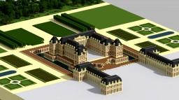 Château de Versailles - 1665 Minecraft