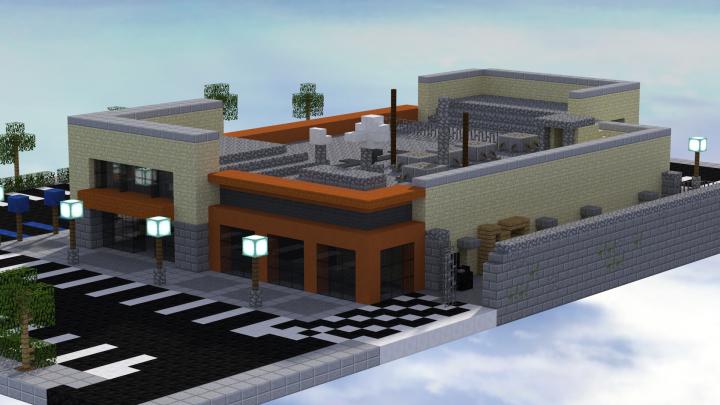 Strip Mall Minecraft Project