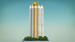 [Skyscraper] Mei Pak Court, Hong Kong | 香港沙田美柏苑 Minecraft Project