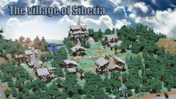 Forest Village. Minecraft Map & Project