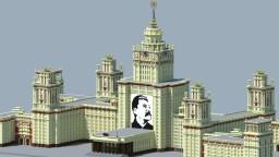 Moscow State University (МГУ им. Ломоносова) Minecraft Map & Project