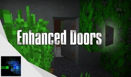 Enhanced Doors | Minecraft Concept Minecraft Map & Project