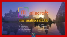 Maliscraft Minecraft Server