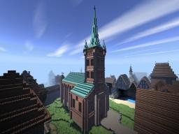 St. Olaf's church Minecraft