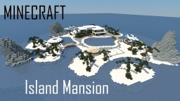 Modern Island Mansion (full interior)