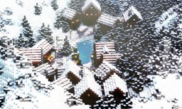 Little Christmas Village Minecraft Project