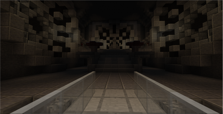 Emperors throne room, unfinished
