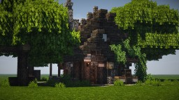 Burnt House Minecraft Map & Project