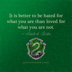 In Defence of Slytherin