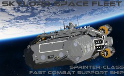 Sprinter Class Fast Combat Support Ship Minecraft Map & Project