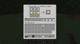 [1.12.2]Automatic Crafting Table+ Minecraft Mod