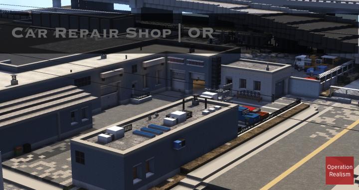 car repair shop or minecraft project