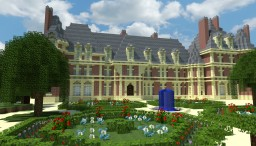 Trevarez Castle (France) Minecraft Project