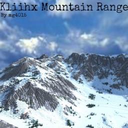 Kliihx Mountain Range - 2k Realistic Terrain