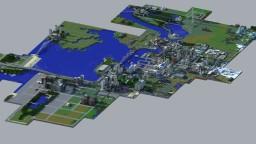 Massive world build. Minecraft Project