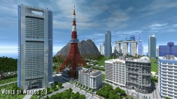 Tokyo, Japan Minecraft Map & Project