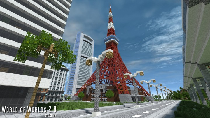 Tokyo Tower view from ground