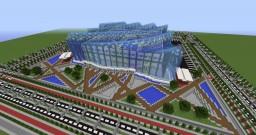 Olympic aquatics centre Minecraft Map & Project