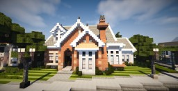 European style house Minecraft Map & Project