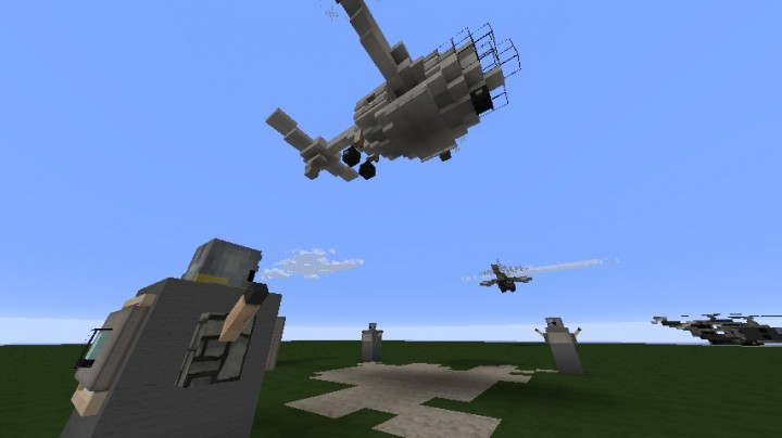 Soldiers and Vertibird
