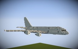 Minecraft- 1:1 Scale Airbus A380-800 Minecraft Map & Project