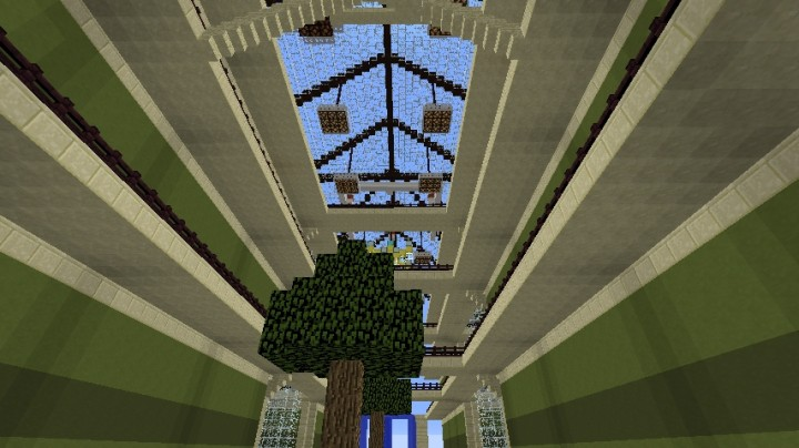 how to build a mall in minecraft