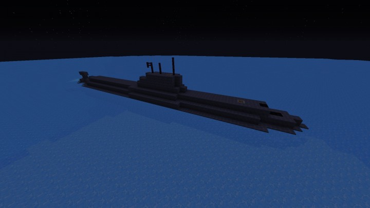 Small Attack Submarine Minecraft Project
