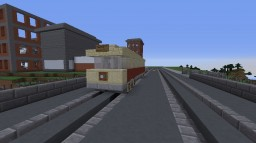 1950's City Streetcar Minecraft Map & Project