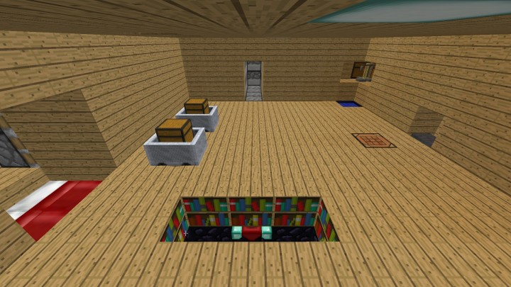 One Room House Minecraft Project