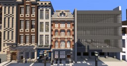 Amsterdam Townhome #3 Minecraft Project
