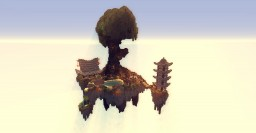 Asiatique Flying Island Minecraft Map & Project