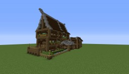 Rustic Mansion + Stable Minecraft Map & Project