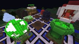 Quantum Brothers Spawn and Shops Minecraft Map & Project