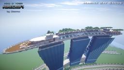Singapore Marina Bay Sands Minecraft Map & Project