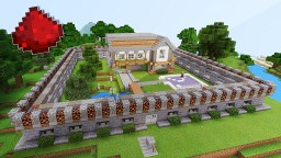 BEST MCPE REDSTONE HOUSE (Pocket Edition) Minecraft Map & Project