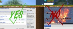 Blogging: What NOT to post (Forum-related only) Minecraft Blog