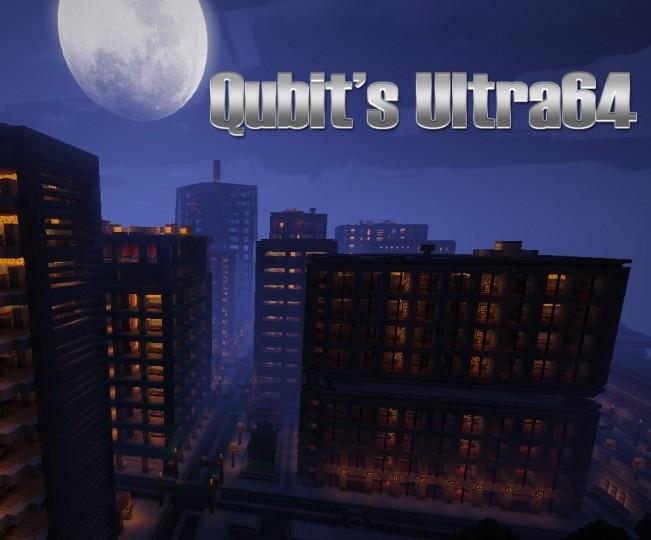 Popular Texture Pack : Qubit's Ultra64