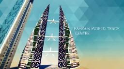 Bahrain world trade center Minecraft Map & Project