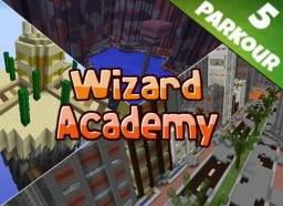 Wizard Academy - Parkour Map [1.9+] Minecraft Map & Project